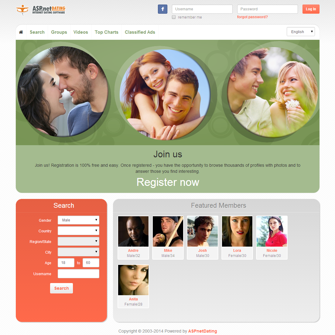 dating website open source