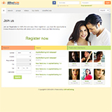 Dating Software Default Theme Demo Site