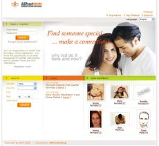 asp net dating site software