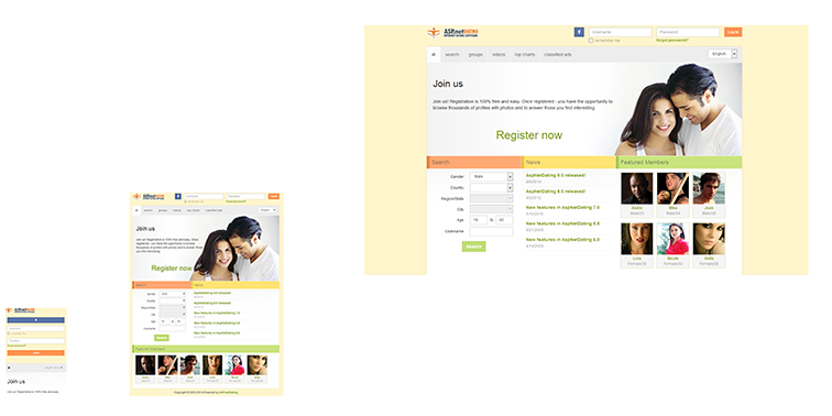Dating site builder v2