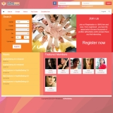 Dating Software Social3 Theme Demo Site